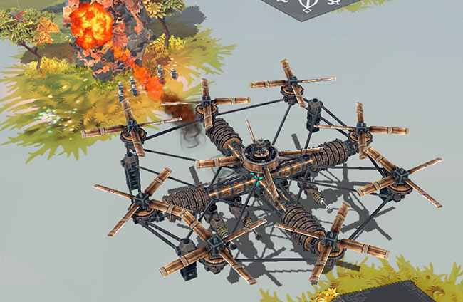 Besiege Octocopter