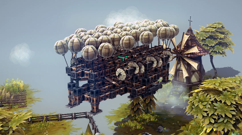 Besiege Flying Hovering Machine