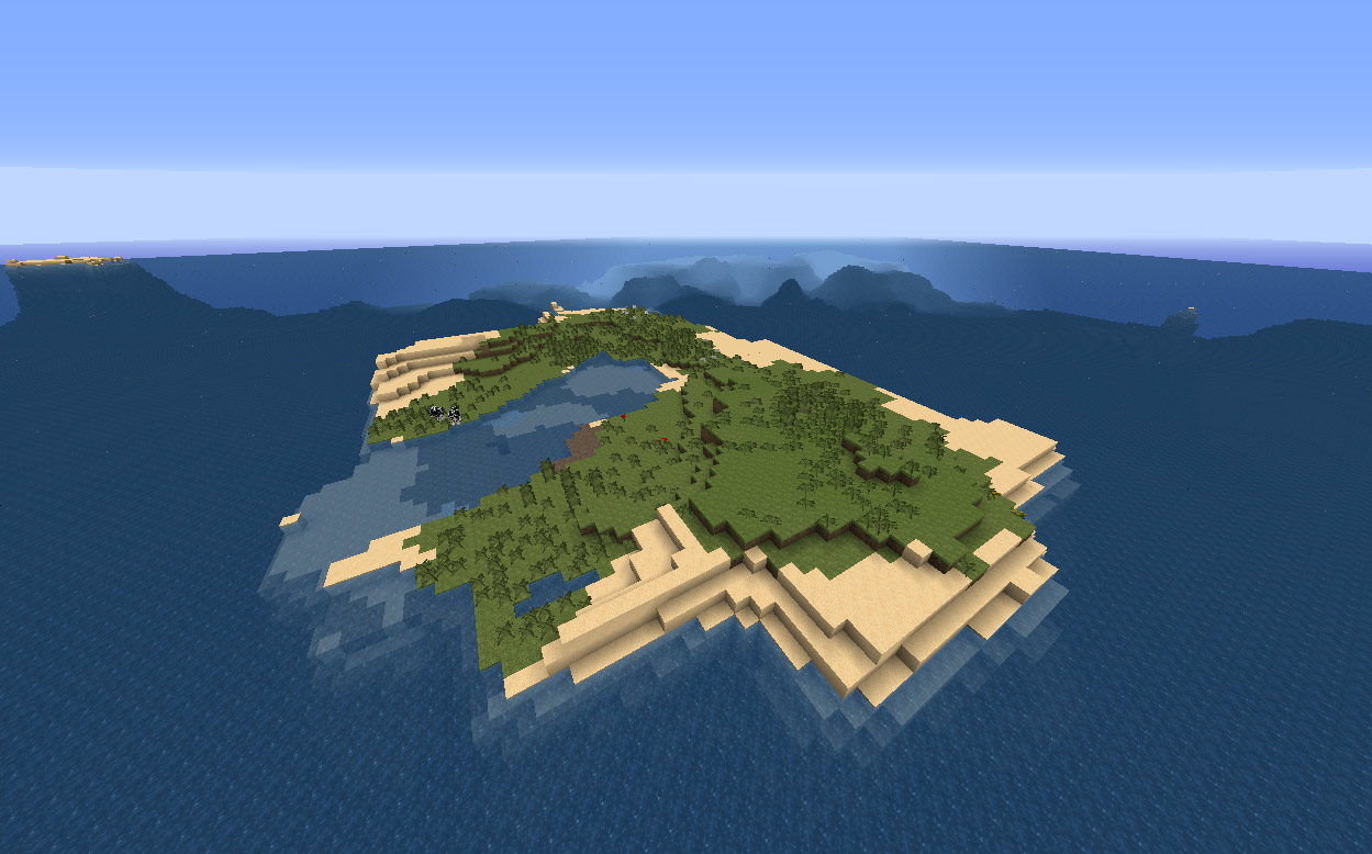 Minecraft World Seed With Huge Ocean And Small Islands H3xed