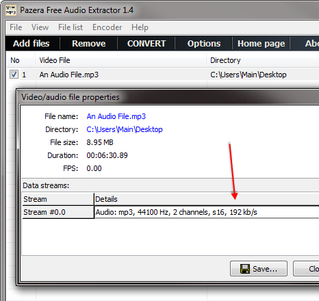 How To Find The Bitrate And Frequency Of An Audio File - H3XED