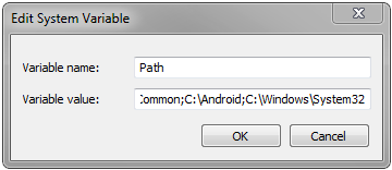 Windows Path Variable